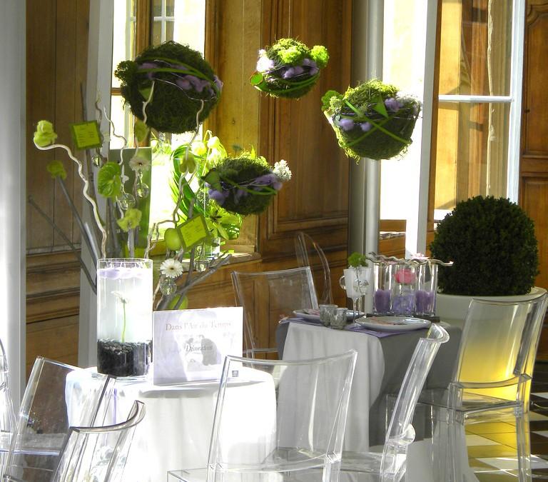 Décoration salon du mariage – Hôtel l'Hermitage, Lille (59)