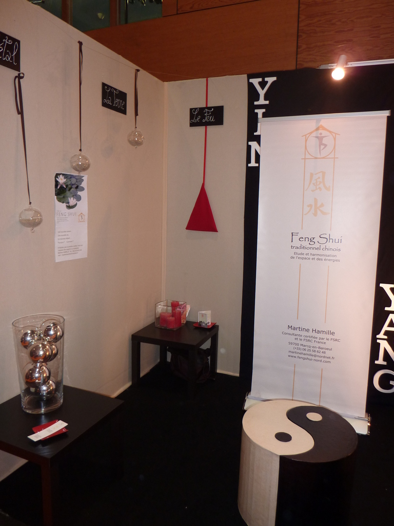 D coration d un stand feng shui sur le salon am nago for Stand lille
