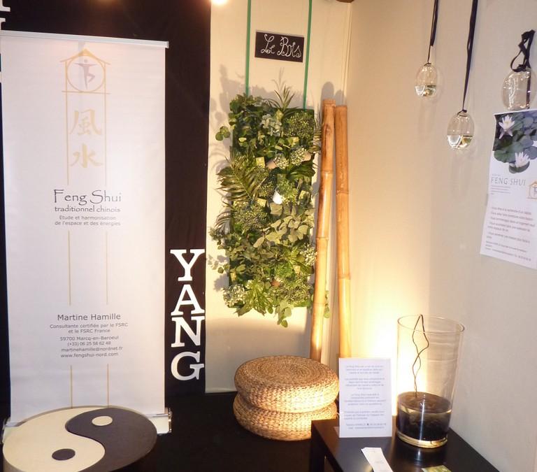Décoration d'un stand «Feng Shui» sur le salon Aménago – Lille (59)