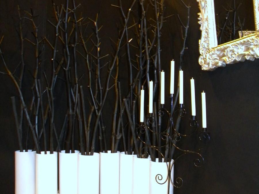 Décoration d'un stand «coiffure esthétique» sur un salon du mariage – Arras (62)