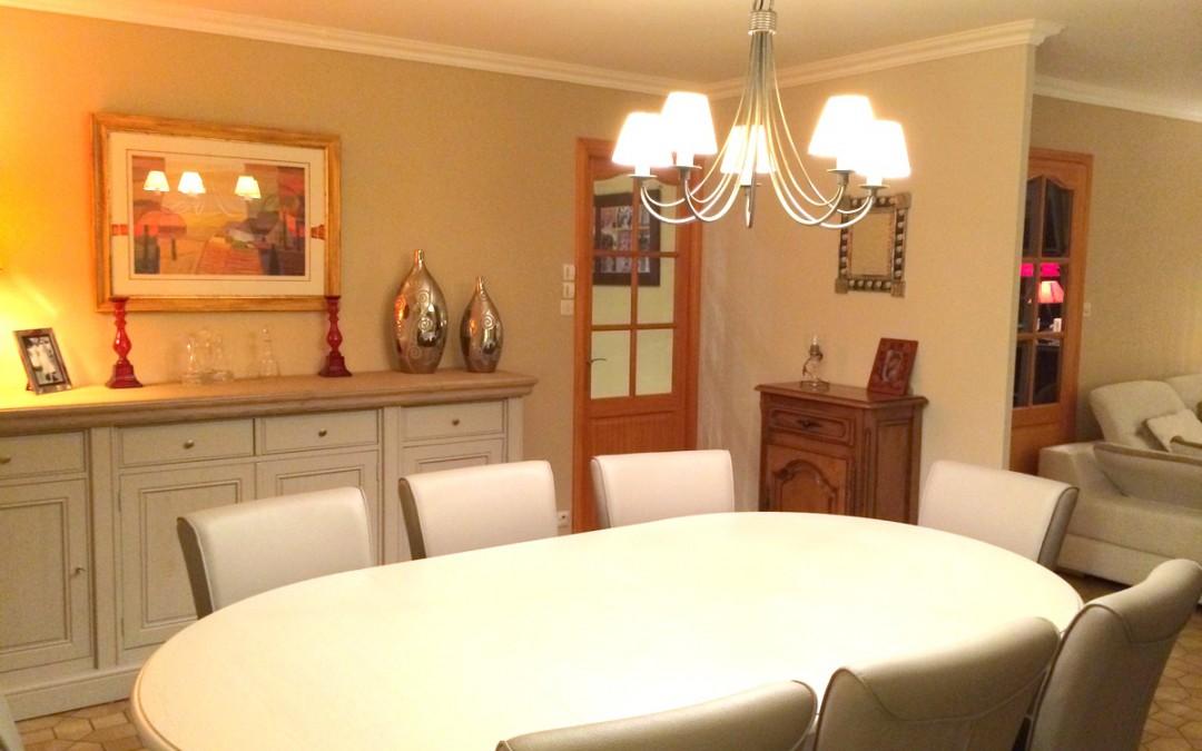 La décoration d'un séjour – Esnes (59)