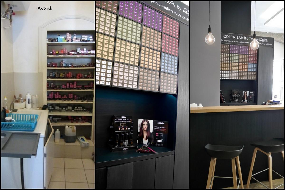 Salon coiffure reims 28 images la d 233 coration d un for Un salon de coiffure
