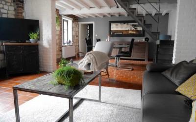 Décoration d'un séjour et d'un bureau – Achicourt (62)