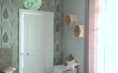 La décoration d'une chambre de jeune fille – Arras (62)