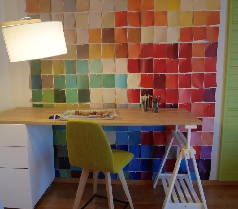 Décoration d'un bureau/atelier (arts créatifs) – Dainville (62)