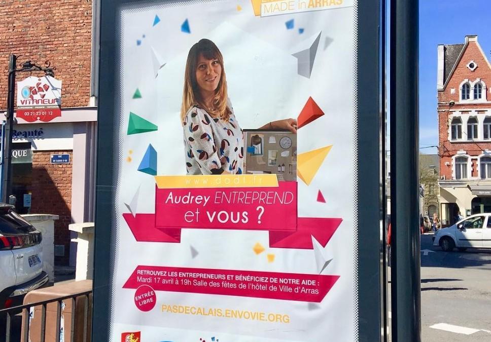 Affichée sur Arras!