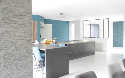 Décoration et aménagement d'une pièce de vie – Frévin Capelle (62)