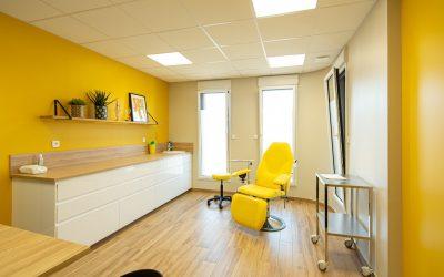 Décoration d'un cabinet médical – Boeschepe (59) –